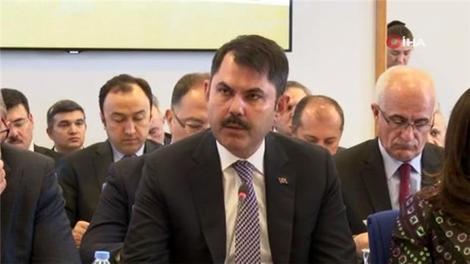 Bakan Kurum Çevre ve Şehircilik Bakanlığı bütçe ve hedefleri ile ilgili bilgi verdi