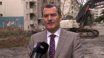 Zeytinburnu Millet Bahçesi için yıkımlar başlıyor