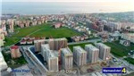 Marmara Evleri 4 havadan görüntülendi