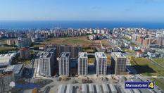 İhlas Marmara Evleri 4 şantiyesi havadan görüntülendi