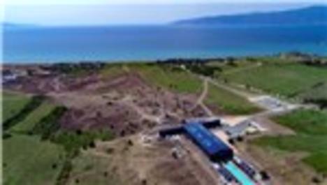 TOGG fabrika arazisi havadan görüntülendi