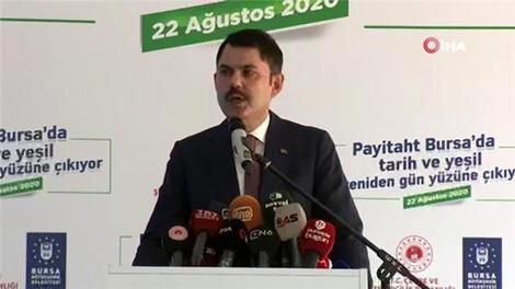 """""""Bursa'nın gelecek 100 yılına damga vuracak bir süreci başlatıyoruz"""""""