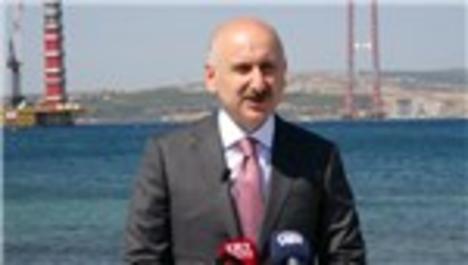 """""""1915 Çanakkale Köprüsü Türkiye'nin ve dünyanın en önemli projelerinden bir tanesi"""""""
