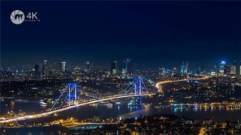İşte İstanbul'un hızlandırılmış 4K videosu!