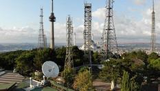 Çamlıca Tepesi'ndeki anten vericiler sökülmeye başlandı
