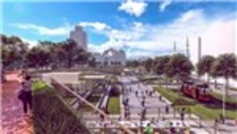 Taksim Meydanı projesi sonuçlandı!