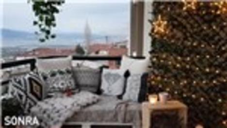 Balkonlar için dekorasyon fikirleri!