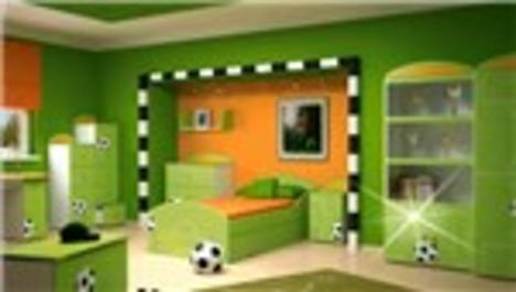 En güzel çocuk odalarından örnekler