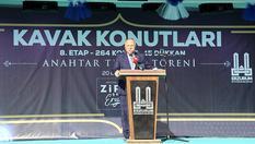 Erzurum kentsel dönüşüm konutları teslim edildi!