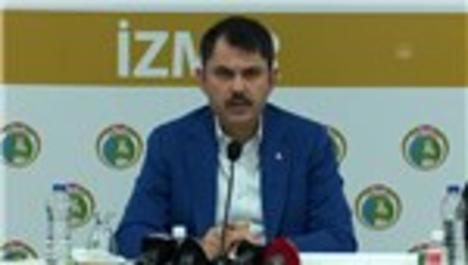 """Bakan Kurum: """"Çadır kentlerimizi organize etmiş durumdayız"""""""