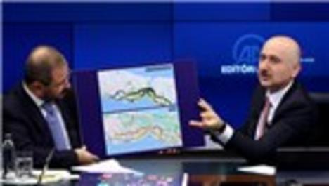 """Bakan Karaismailoğlu: """"İzmit-Akyazı hattı 21 Aralık'ta hizmete açılacak"""""""