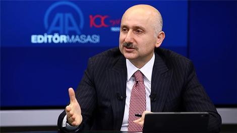 """""""Gayrettepe-Havalimanı hattımızda 130 tren yüzde 60 yerlilikle Ankara'da imal edilecek"""""""