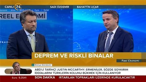 Bahattin Uçar, Kanal 24'te sektörü değerlendirdi!