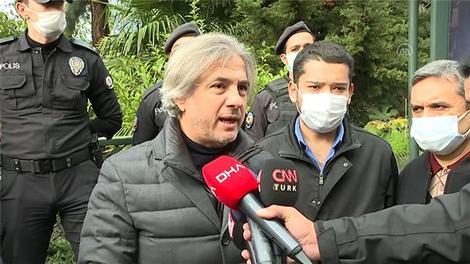 Demircan, Vaniköy Camisi'ndeki yangın yerini inceledi