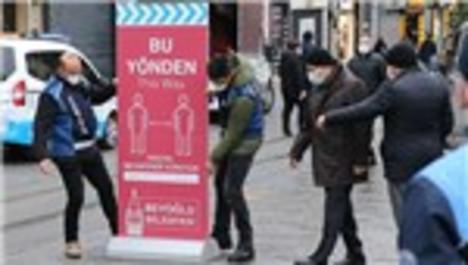 İstiklal Caddesi'ne girişler sınırlandırıldı