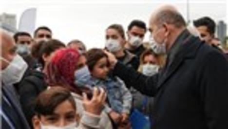 Bakan Soylu, İzmir'deki depremle ilgili yürütülen çalışmaları inceledi