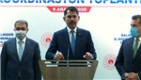 Bakan Kurum, Balıkesir İl Koordinasyon Toplantısı'nda konuştu