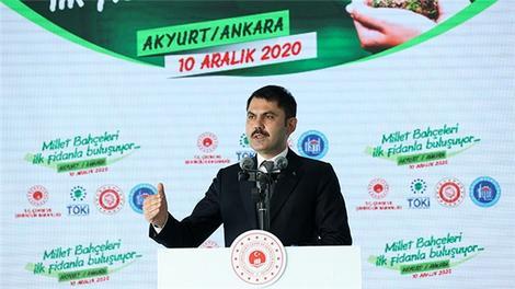 """""""Ankara'yı güçlü Türkiye'nin güçlü başkenti yapıyoruz"""""""