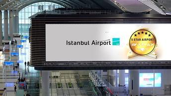 """İstanbul Havalimanı'na """"5 Yıldızlı Havalimanı"""" ödülü"""