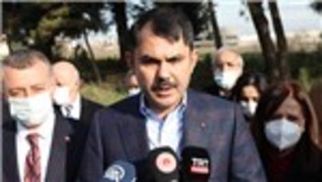 """Bakan Kurum, Kocaeli'de """"Millet Bahçelerimiz Fidanlarıyla Buluşuyor"""" etkinliğine katıldı"""