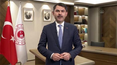Çevre ve Şehircilik Bakanı Kurum'dan yeni yıl mesajı