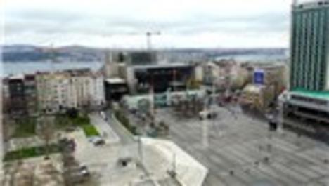 Taksim'deki Atatürk Kültür Merkezi inşaatının yüzde 82'si tamamlandı