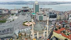 Taksim'e yapılan caminin genel inşaatının yüzde 95'i tamamlandı