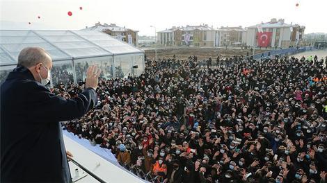 Cumhurbaşkanı Recep Tayyip Erdoğan, Elazığ'da vatandaşlara hitap etti