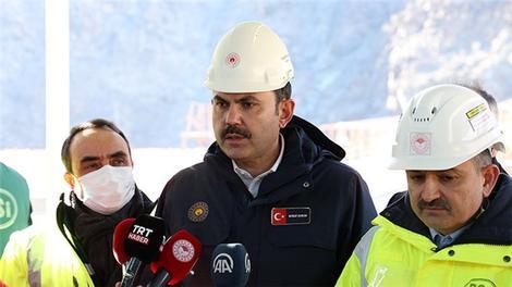 """Bakan Kurum: """"Yusufeli ilçemize 3 bin 200 iskan konutu inşa ediyoruz"""""""