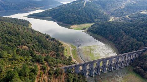 İstanbul barajlarındaki su seviyesi, son yağışlarla yüzde 24,29 arttı