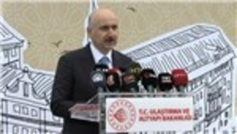 Bakan Karaismailoğlu, Haydarpaşa Garı'nda incelemelerde bulundu