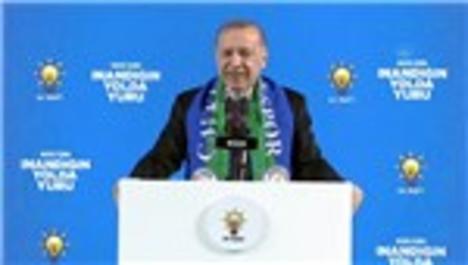 """Cumhurbaşkanı Erdoğan: """"Aralık 2021'de Rize-Artvin Havalimanını bitiriyoruz"""""""