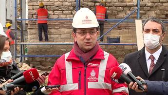 İBB kara surları için restorasyon çalışması başlattı