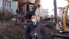 """Kocaeli """"ağır hasarlı bina"""" yükünden kurtuluyor"""