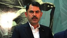 """Bakan Kurum: """"Kanal İstanbul Projesi'nin ihalesini 2021'de yapacağız"""""""