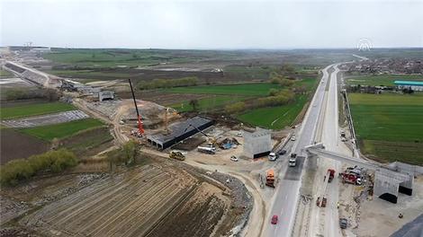 Çerkezköy-Kapıkule demir yolu hattı çalışmalarında yüzde 32'lik kısım tamamlandı