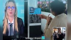 İstanbul Havalimanı'nda işaret dili mobil hizmeti