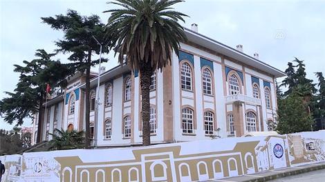 Trabzon tarihi vilayet binası, aslına uygun olarak hizmet vermeye hazırlanıyor