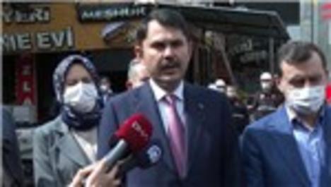 Bakan Kurum Kızılcahamam'daki yangınla ilgili açıklamalarda bulundu