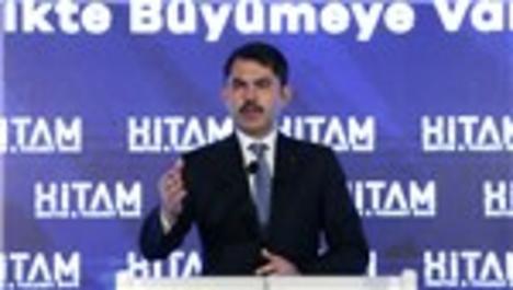 Bakan Kurum, HİTAM tanıtım toplantısında konuştu
