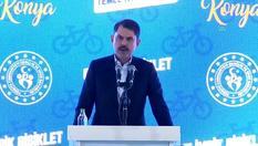 Bakan Kurum: 'Vatandaşlarımız bisikletle yollardan kesintisiz olarak gidebilecekler'