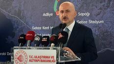 """Bakan Karaismailoğlu: """"Gebze OSB-Darıca Sahil Metro hattımız Marmaray'a da bağlanacak"""""""