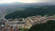 Ormanköy Çekmeköy projesinden havadan şantiye görüntüleri!