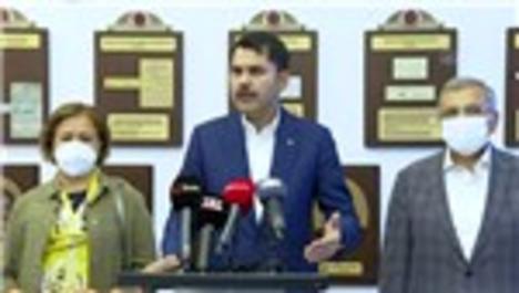 """Bakan Kurum: """"Marmara'mız, 26 gün öncesinden daha iyi"""""""