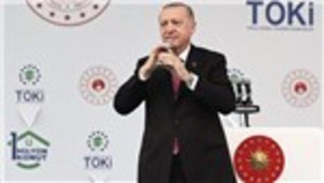 Cumhurbaşkanı, TOKİ'nin 1 Milyonuncu Evini Teslim Etti!
